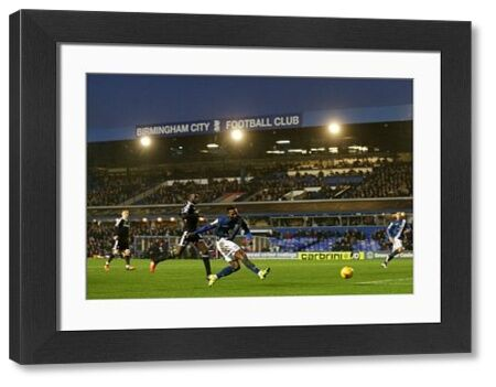 Birmingham City's Jacques Maghoma scores their first goal