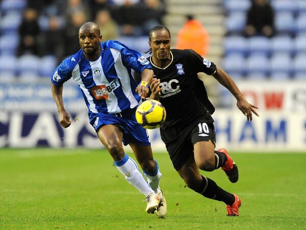 Barclays Premier League - Wigan Athletic v Birmingham City - DW Stadium