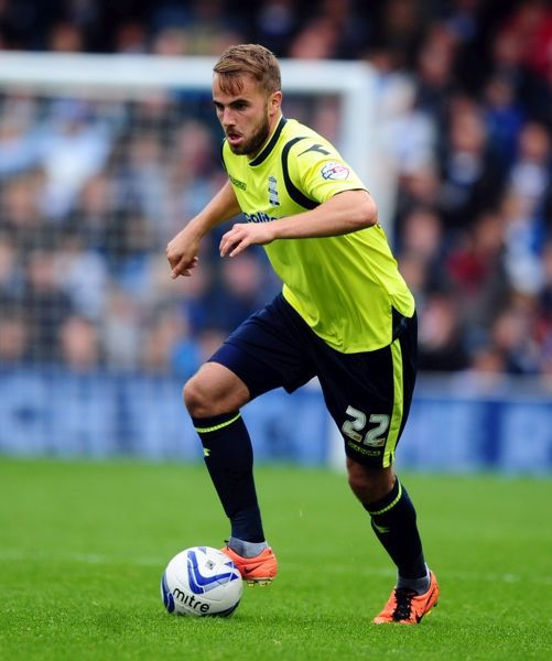 Birmingham City's Andrew Shinnie during the Sky Bet Championship match at Loftus Road, London