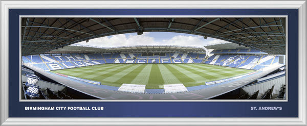 A quality framed photographic print of St. Andrews Framed in a contemporary silver moulding, supplied ready to hang. BCFC202 - Large framed panoramic BCFC207 - Desktop framed panoramic