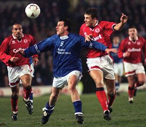 BIRMINGHAM CITY V MIDDLESBROUGH 1995