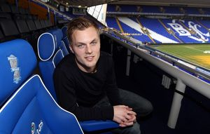 Birmingham City's Sebastian Larsson during the media day at St. Andrew's