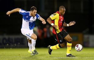 Capital One Cup - First Round - Bristol Rovers v Birmingham City - Memorial Stadium