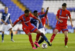Capital One Cup - Second Round - Birmingham City v Gillingham - St. Andrew's