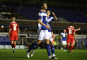 Carling Cup - Third Round - Birmingham City v Milton Keynes Dons - St. Andrew's