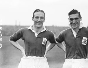 (L-R) Martin McDonnell and Tommy Capel, Birmingham City