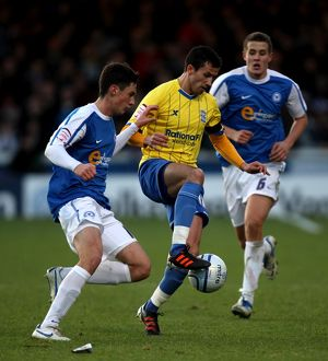 <b>02-01-2012 v Peterborough United, London Road</b><br>Selection of 19 items