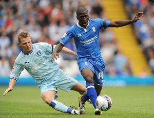 <b>13-08-2011 v Coventry City, St. Andrew's</b><br>Selection of 32 items