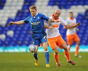 npower Football League Championship - Birmingham City v Blackpool - St. Andrew's
