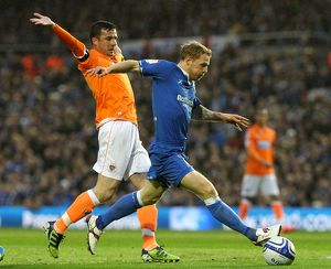 <b>Playoff Semi Final Second Leg, 09-05-2012 v Blackpool, St. Andrew's</b><br>Selection of 4 items