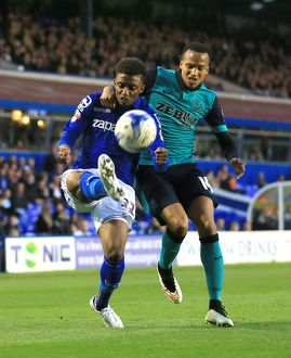 <b>Sky Bet Championship - Birmingham City v Blackburn Rovers - St. Andrews</b><br>Selection of 13 items
