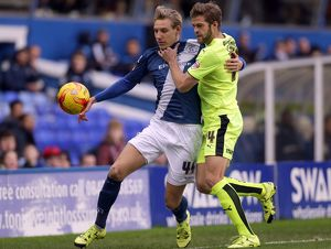 <b>Sky Bet Championship - Birmingham City v Huddersfield Town - St. Andrews</b><br>Selection of 9 items