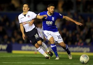 <b>Sky Bet Championship - Birmingham City v Bolton Wanderers - St Andrew's</b><br>Selection of 6 items
