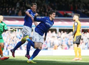 <b>Sky Bet Championship - Birmingham City v Wolves - St. Andrew's</b><br>Selection of 10 items