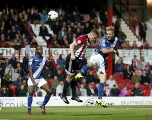<b>Sky Bet Championship - Brentford v Birmingham City - Griffin Park</b><br>Selection of 12 items