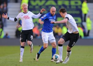 <b>Sky Bet Championship - Derby County v Birmingham City - iPro Stadium</b><br>Selection of 17 items