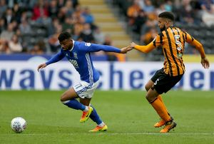 <b>Sky Bet Championship - Hull City v Birmingham City - KCOM Stadium</b><br>Selection of 3 items