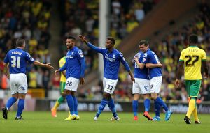 <b>Sky Bet Championship - Norwich City v Birmingham City - Carrow Road</b><br>Selection of 12 items