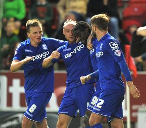 <b>Sky Bet Championship - Rotherham United v Birmingham City - New York Stadium</b><br>Selection of 4 items