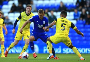 Sky Bet EFL Cup - Birmingham City v Oxford United - First Round - St.Andrews