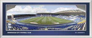 St Andrews Framed Panoramic Empty Behind Goal