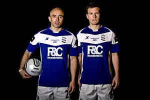 Stephen Carr and Craig Gardner (r), Birmingham City